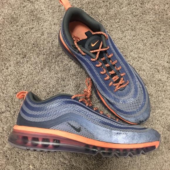 bd232430f07 Men s Nike Air Max 97 rare blue and orange. M 5b0a3c3431a376e098b0ff70